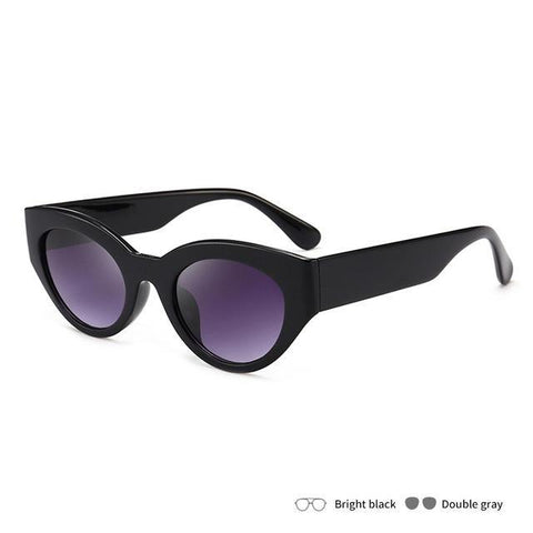 Act Now Retro Cat Eye Sunglasses