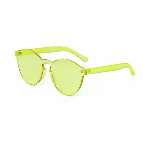 Just Be Your Selfie Candy Color Sunglasses
