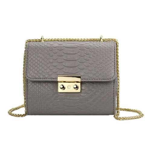 Kimora Leather Messenger Handbag