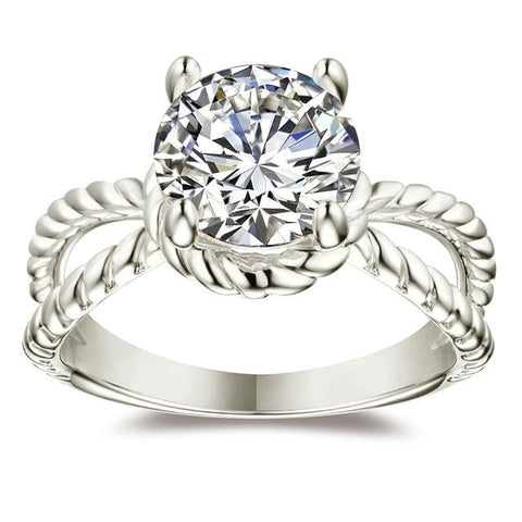 Coatney White Gold Wedding Ring