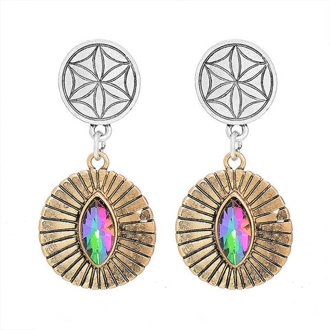 Stacie Long Classic Pendant Earrings