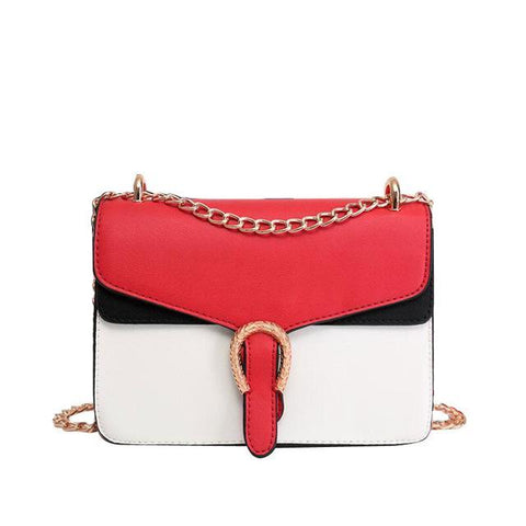 Image of Soraya Patchwork Panelled Female Shoulder Handbag