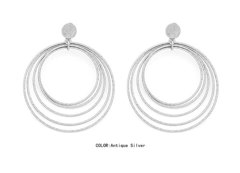 Image of Yaretzi Bohemian Big Drop Earrings