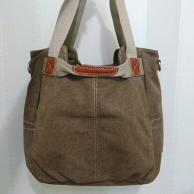 Centia Canvas Large Ladies Messenger Handbag