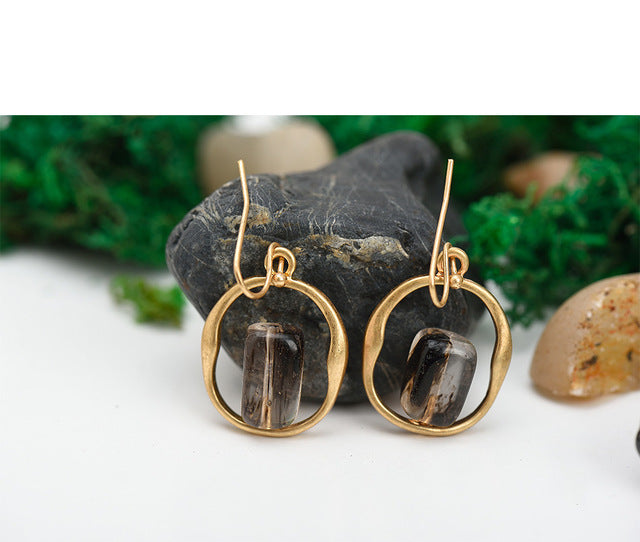 Shagun Stone Drop Earrings