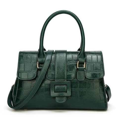 Image of Marleigh Luxury Crocodile Leather Handbag