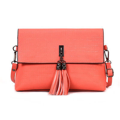 Image of Guenolee Crossbody Bag Scrub Leather Handbag