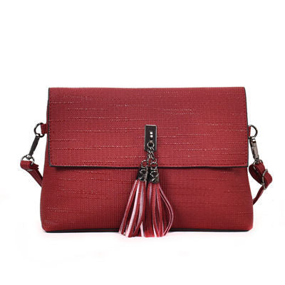 Guenolee Crossbody Bag Scrub Leather Handbag