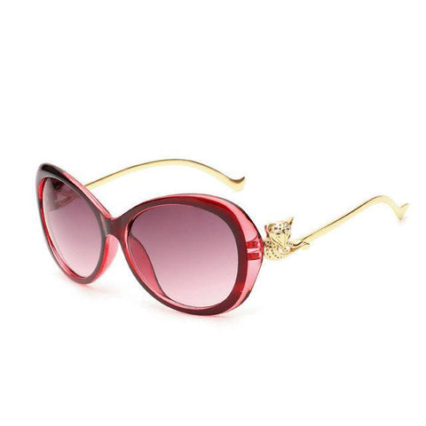 Image of Huwasa Oval Retro Full Frame Sunglasses