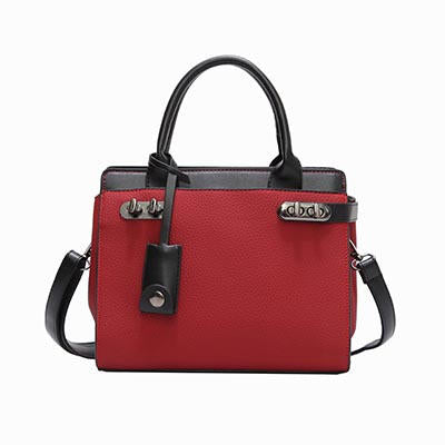 Anni PU Leather Flag Handbag