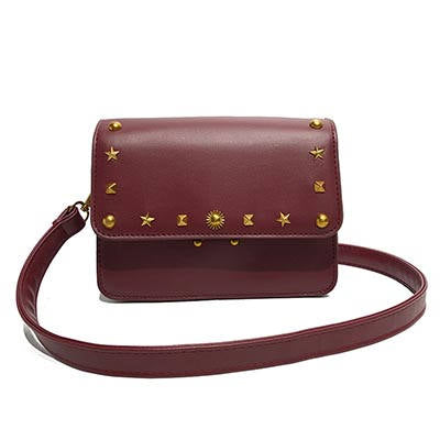 Image of Giselaine Mini Handbag with Interior Zipper Pocket