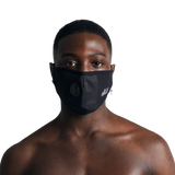 Black Technical Nylon Face Mask