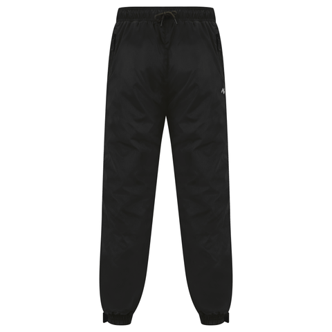 Black Technical Nylon Shell Pants