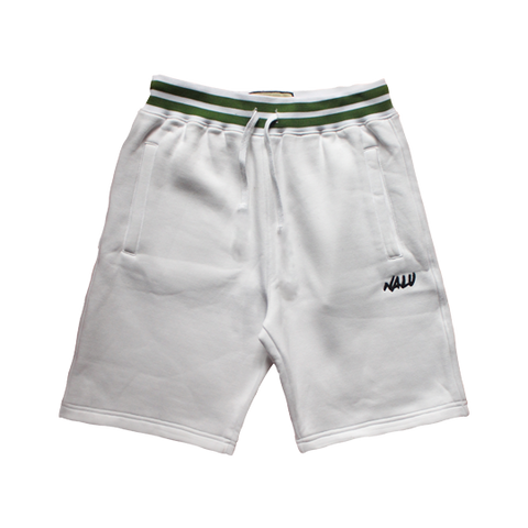 Khaki Court Jersey Shorts