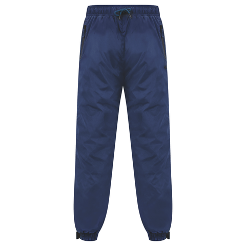 Navy Technical Nylon Shell Pants