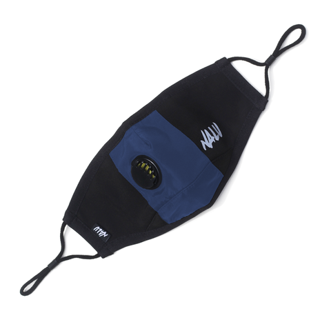 Navy Technical Nylon Face Mask