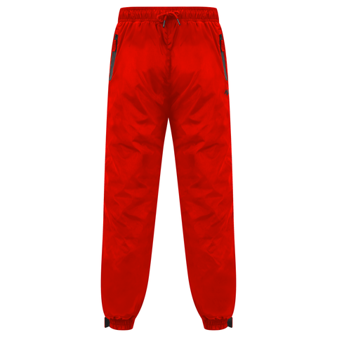 Red Technical Nylon Shell Pants
