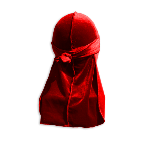 Red 'HOT LAVA' Deluxe Durag