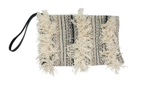 Cream Bohemian Chic Clutch