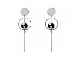 Majique Silver Drop Earrings