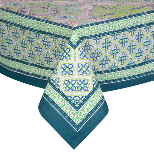 Lime Dream Tablecloth
