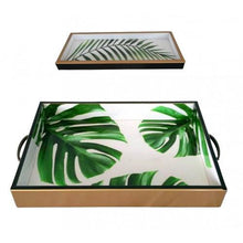 Load image into Gallery viewer, Green Palm Trays