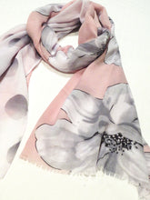 Load image into Gallery viewer, Ivys Pink & Grey Scarf