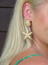 Load image into Gallery viewer, Stella Starfish Earrings