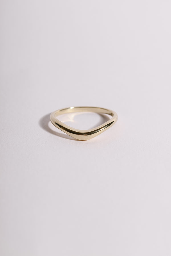 PLAIN ARCH RING