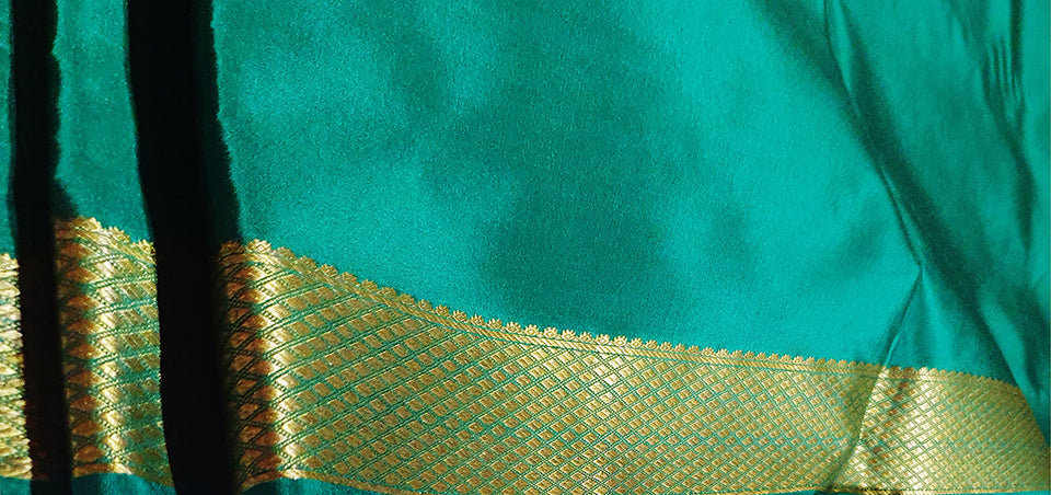 Mysore Silk: The Penchant of Sultans and Maharajas, the Glimmering Crepe Sarees of South India