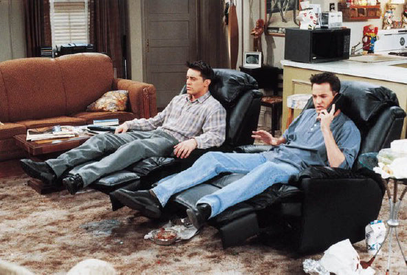 Chandler and Joey: What Pop Culture Can Teach Us About Furniture and Decor