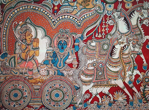 Kalamkari: Fabric Painting in the Temple Towns of Andhra Pradesh