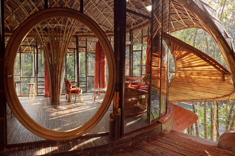Bambu Indah, a luxury eco-friendly boutique hotel in Bali, Indonesia