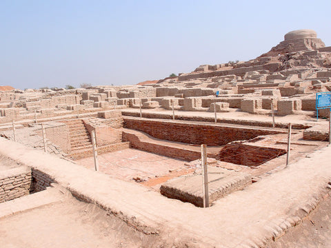 Excavated Ruins of Mohenjo Daro (Indus Valley Civilization)