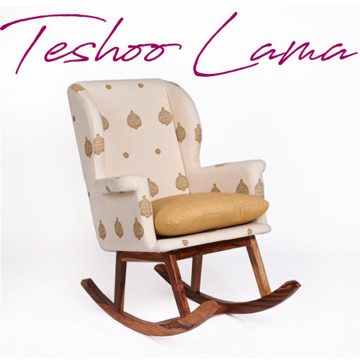 Assam Eri Silk-Cotton Rocking Chair