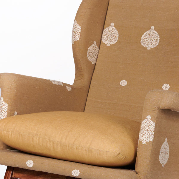 Assam Muga Silk-Cotton Rocking Chair - Sihasn