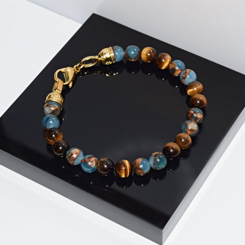 Armband BLUE GOLD - ROCK & STEEL GERMANY