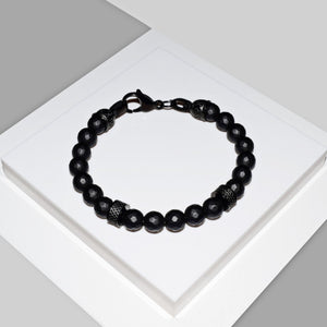 Armband ALL BLACK - ROCK & STEEL GERMANY