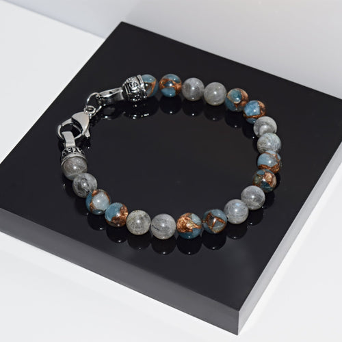 Armband STONE GREY - ROCK & STEEL GERMANY