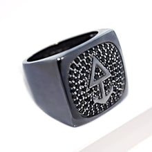 Laden Sie das Bild in den Galerie-Viewer, Ring ICON Sterling Silber - ROCK & STEEL GERMANY