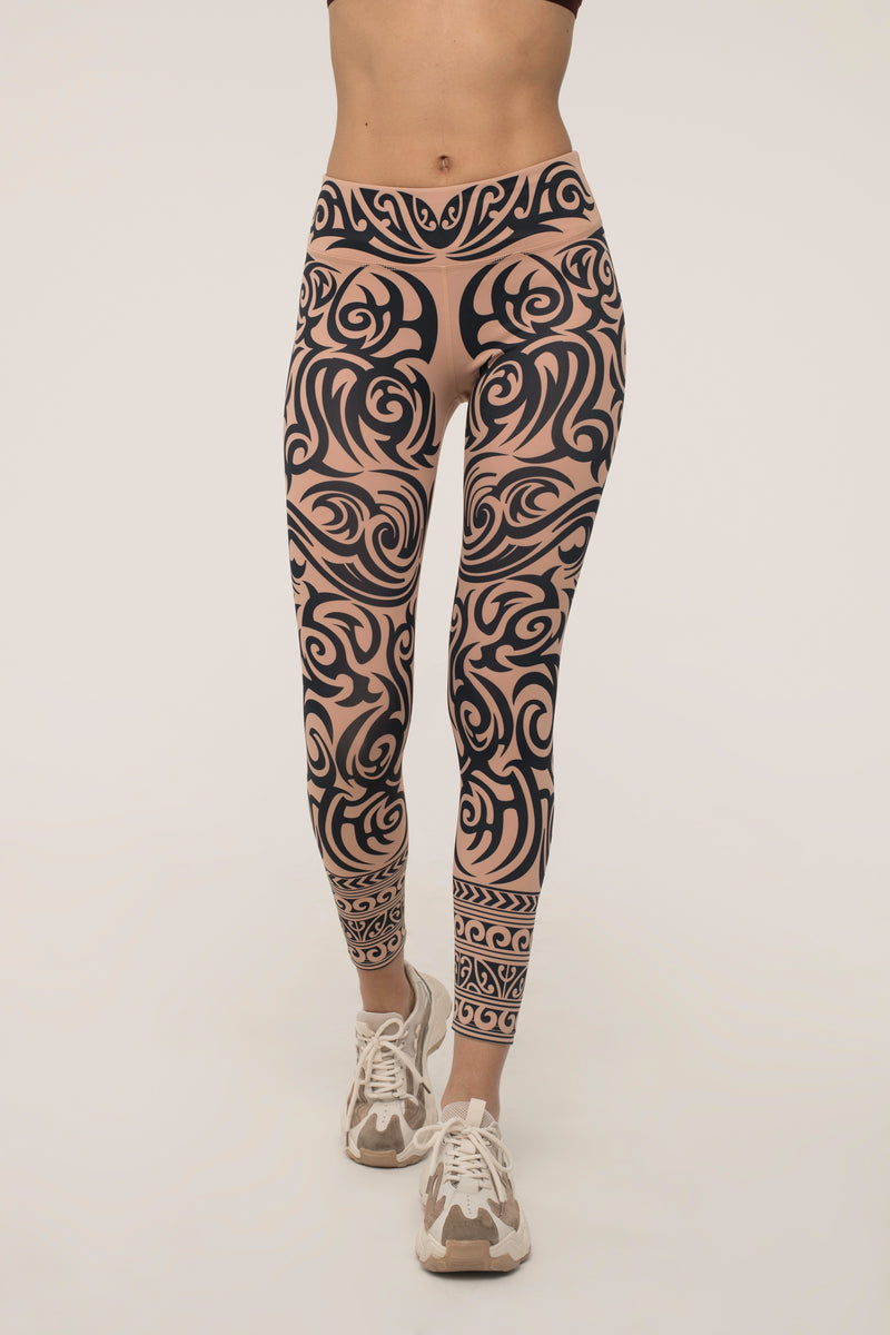 Totemic Tattoo Leggings
