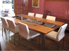 Wood & Steel dining table