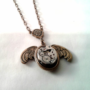 Wings of Time Pendant