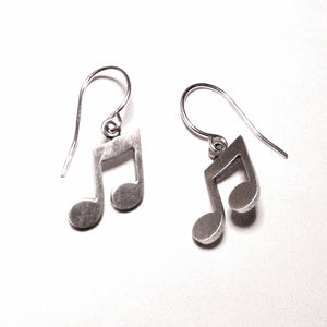 Music Note Earrings