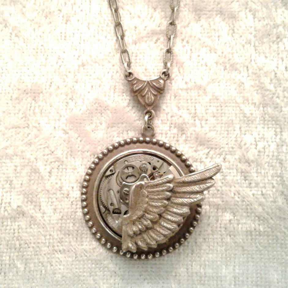 Wing Rocking Pendant