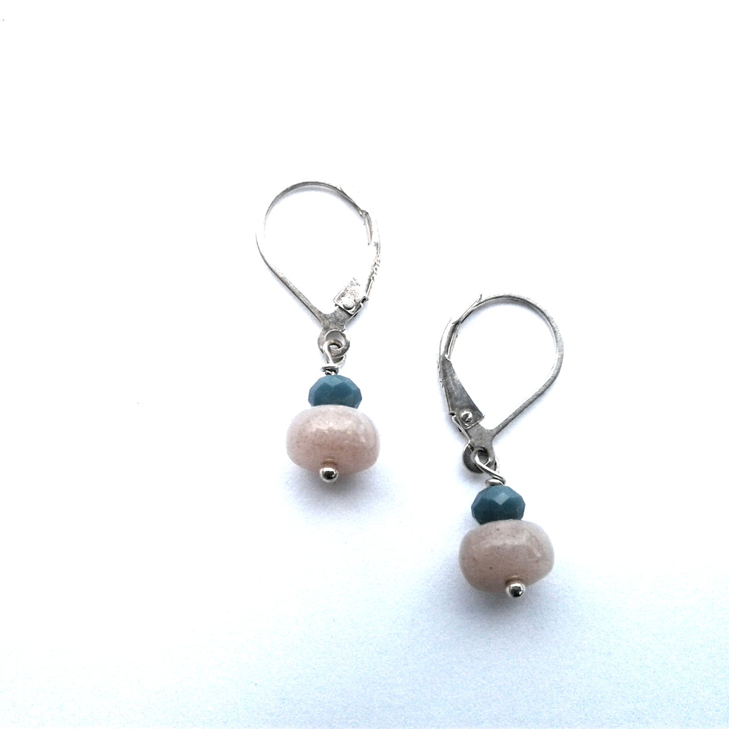 Mini Faceted Earring, LT