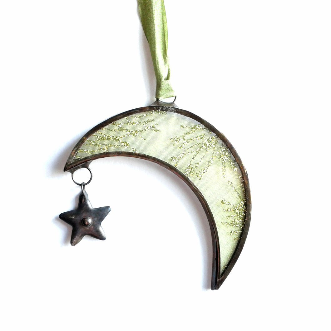 Moon & Stars Ornament