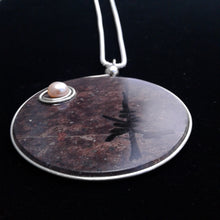 Northern Moon Pendant, lg