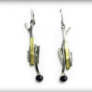 Pewter Earrings, drops