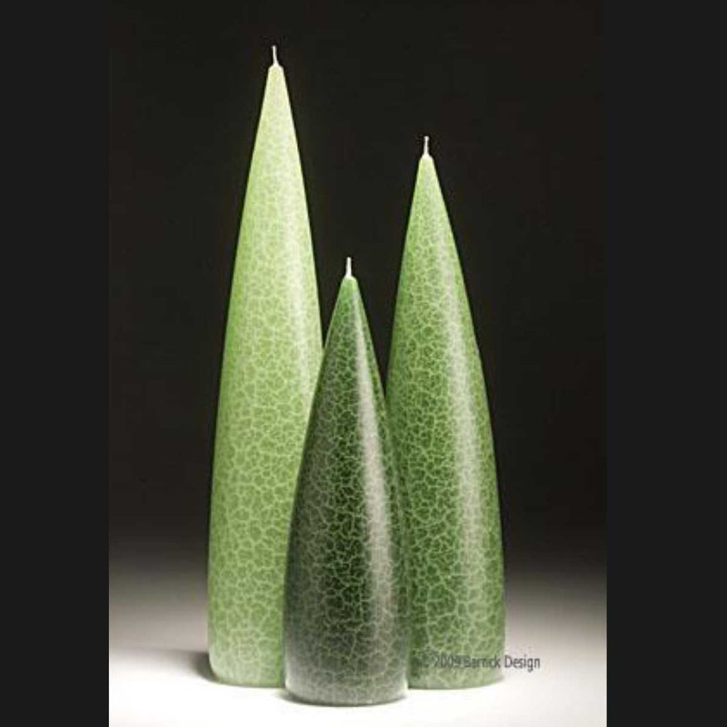 Candle, slim Evergreen